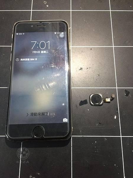 IPHONE 6燙手的HOME鍵