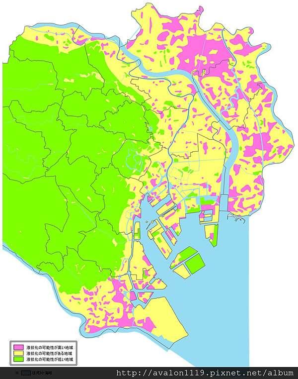 東京土壤液化圖