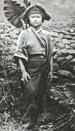 平埔族少女