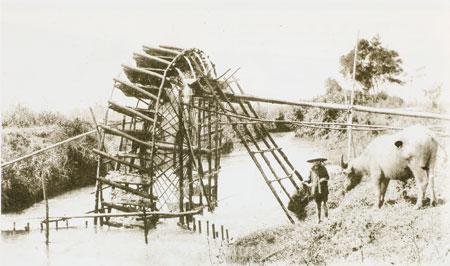 舊時的水車