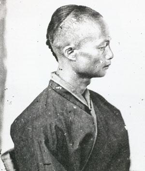 平埔族男子