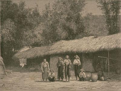 平埔族的房屋