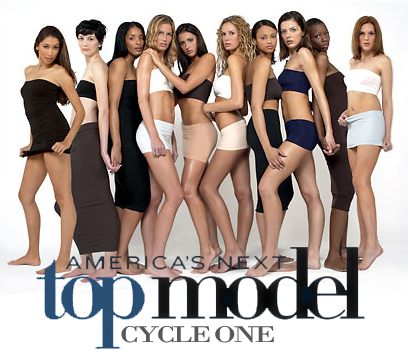 □ America's Next Top Model Cycle 1 宣傳照 ■