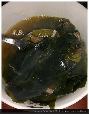 生日海帶湯