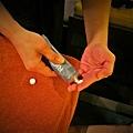 """柏汀妮蔻spa會館,選擇適合的課程""""夏日美足""""  暖手服務用的也是知名品牌護手霜"""