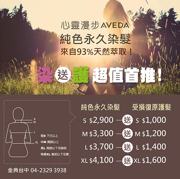 aveda染髮推薦 台中心靈漫步 AVEDA金綠園道