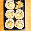 日式炸蝦花壽司【江太日式便當盒餐】