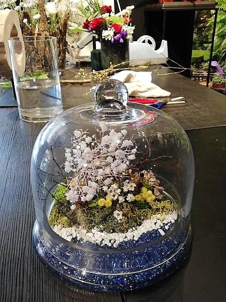 台北花藝從鮮花到乾燥花