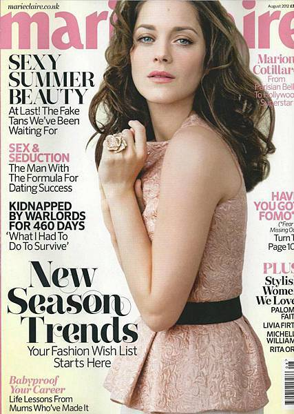 Marion covers Marie Claire UK