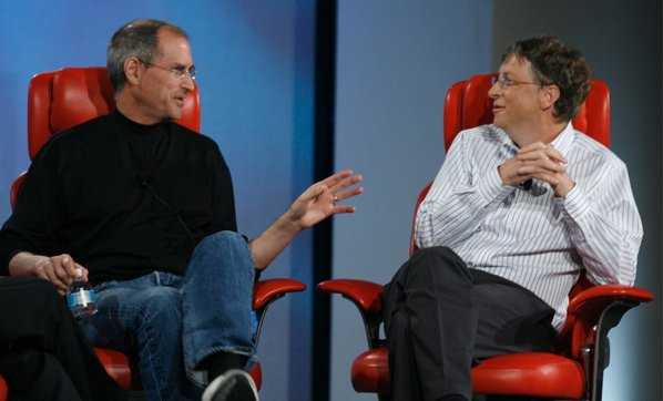 Steve Jobs & Bill GatesO2