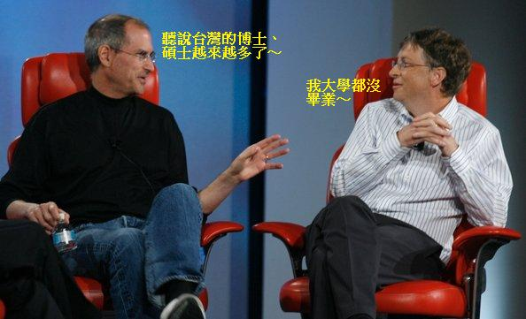 Steve Jobs & Bill Gates1