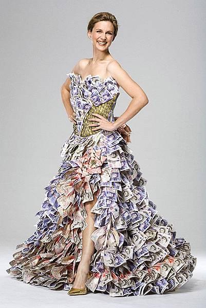 有錢花盡量花裙