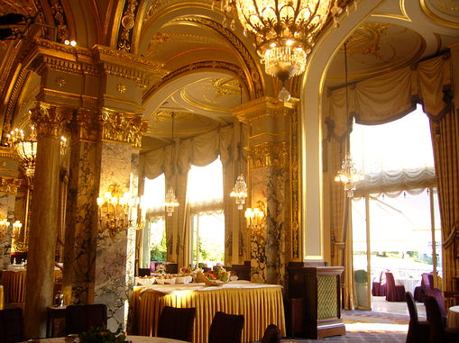 Hotel de Paris Breakfast