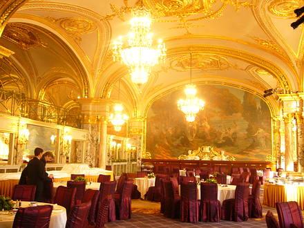 Hotel de Paris Breakfast