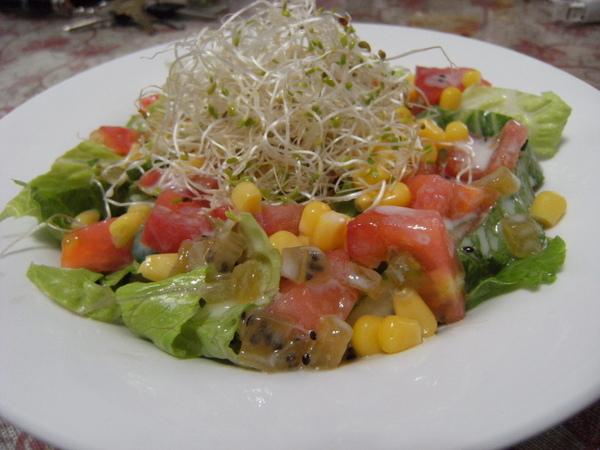 阿桑版生菜沙拉