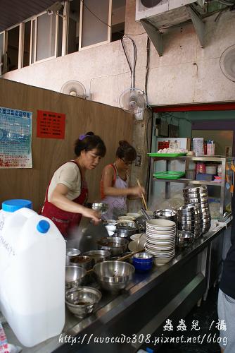 餛飩大王 煮麵區