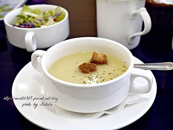 濃湯與沙拉