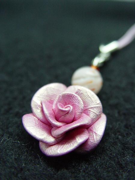 玫瑰鑰匙圈