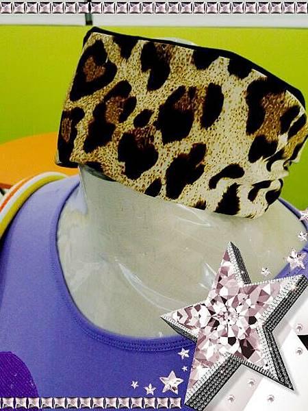 豹紋髮帶20130722