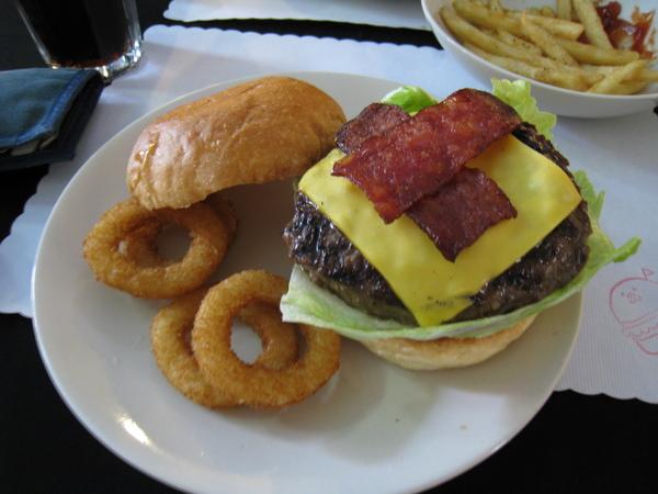 Dancing Burger