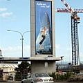[廣告] 台灣入聯在紐約的廣告-1:建築物