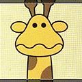 [好廣告] 金巧拿長頸鹿的大頭照