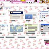 怎麼幫Google瀏覽器,換可愛的版面-0