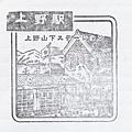 紀念章-JR上野站