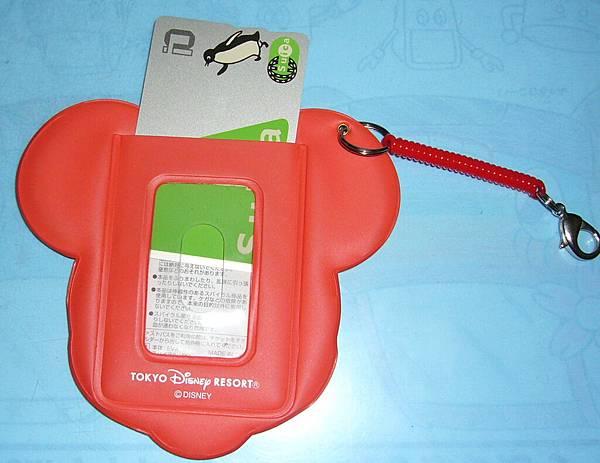 迪士尼-票夾背面