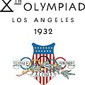 1932 美國 洛杉磯