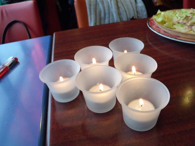 膩膩的生日蠟燭XD