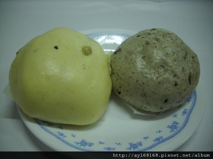 南瓜饅頭和海藻起司包.JPG