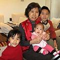 阿嬤跟孫子們