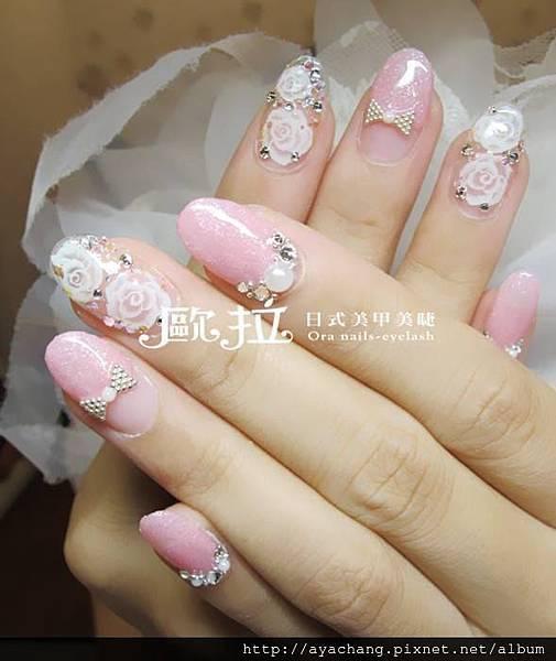 訂婚指甲光療 (18)