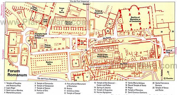 forum-romanum-map