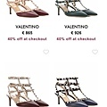 Valentino Rockstud pump (3)