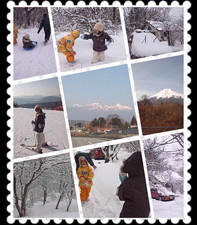 滑雪之旅。