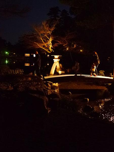 0408 兼六園夜櫻05