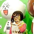0228 咪寶in LINE展07.JPG