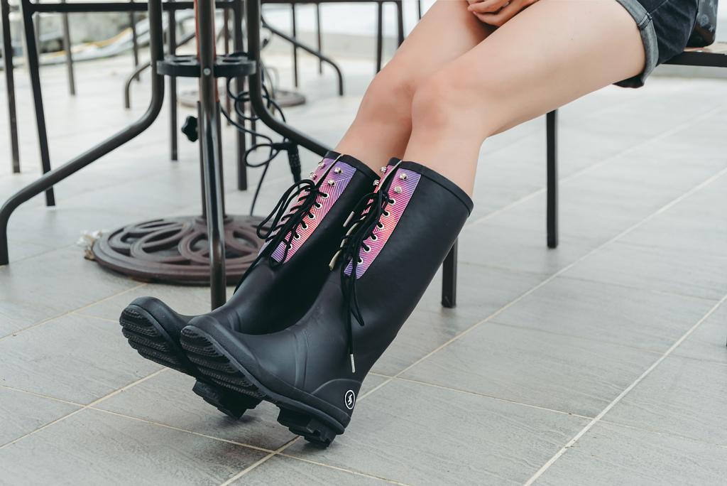 LANDFER雨鞋3 粉紅泡泡 珂荷莉.jpg