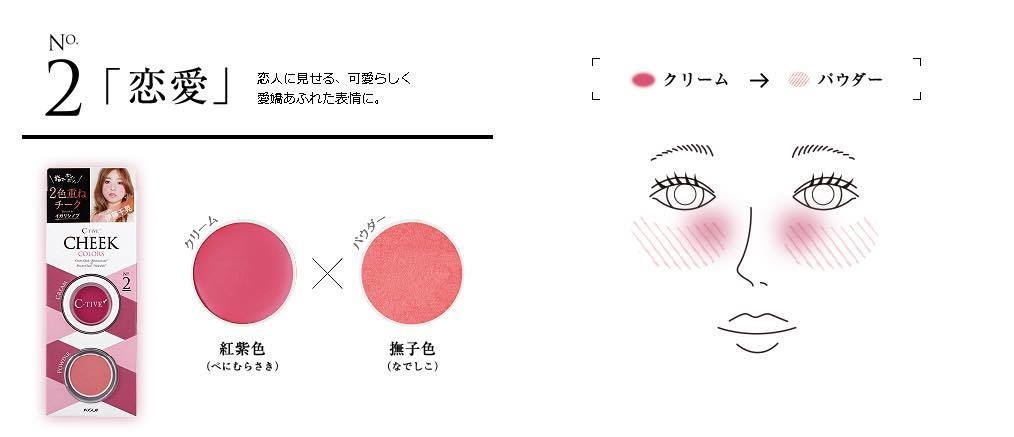 (9%2F9-9%2F14 日本連線)C-TIVE CHEEK COLORS
