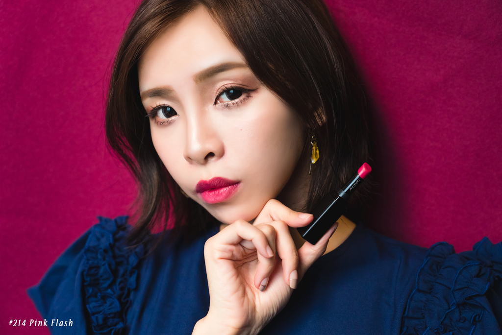 shiseido唇膏 珂荷莉214pinkflash.jpg