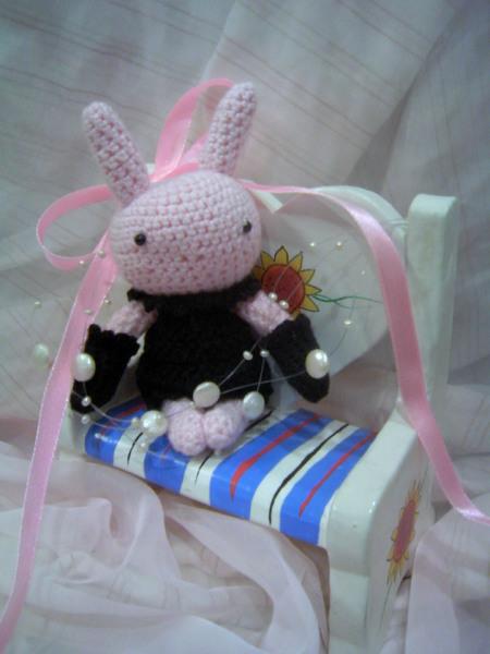淑女粉紅兔兔