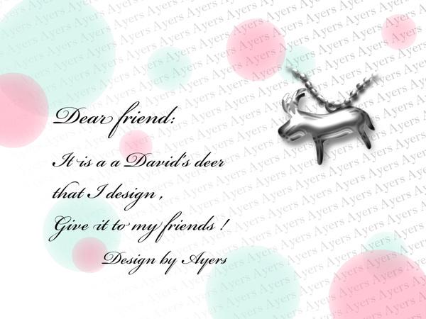 X\'mas a David\'s deer of silver.jpg