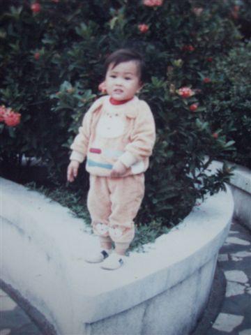 姊姐小時候