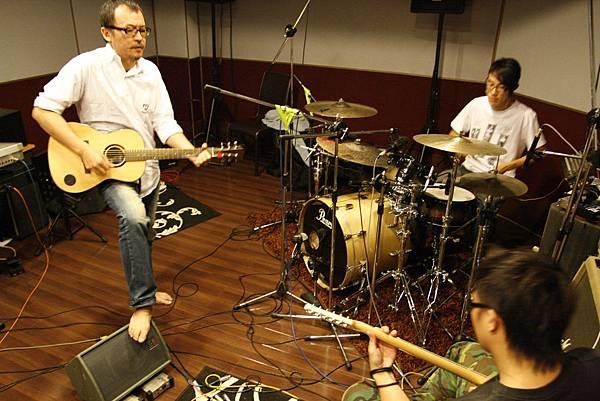 大吉祥錄音室(錄音前的排練)with 胖虎