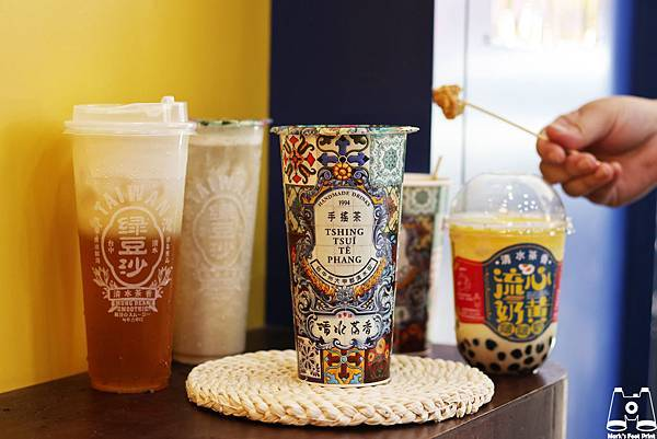 清水茶香店日日紅茶、綠豆沙、奶蓋綠茶、流心奶黃啵啵奶.jpg