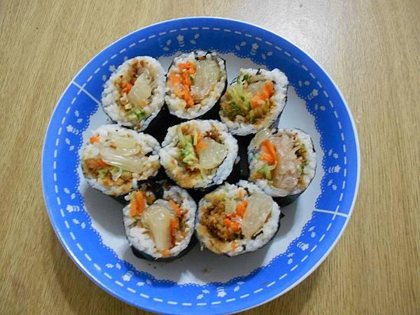 營養美味的壽司