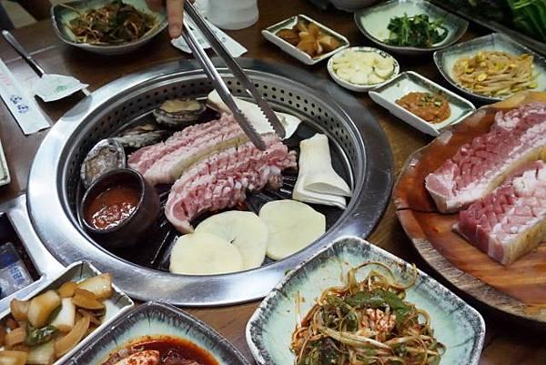 濟州黑豬肉烤肉