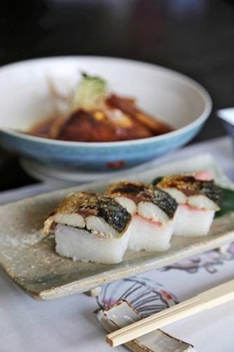 烤鯖魚壽司